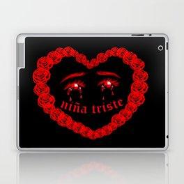Niña Triste 2 Laptop & iPad Skin