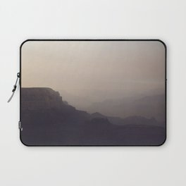 Smoky Hazy Sunset in the Grand Canyon Laptop Sleeve