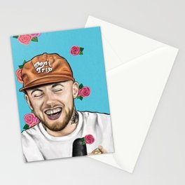 Mac Miller Drawing Stationery Cards