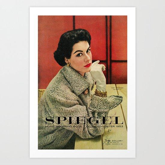 1953 Fall/Winter Catalog Art Print