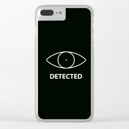 Detected - Skyirm Clear iPhone Case