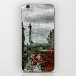 Rainy Days in London Photography iPhone Skin