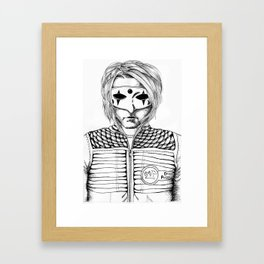 Party Poison Framed Art Print