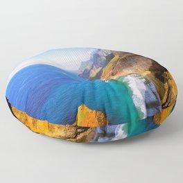 North Na Pali Coast Floor Pillow