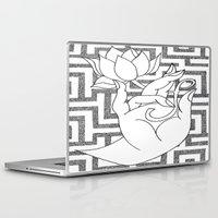 spiritual Laptop & iPad Skins featuring spiritual power by smurfmonster
