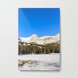 Mitchell Lake Metal Print