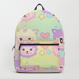 Llamacorn Colors Backpack