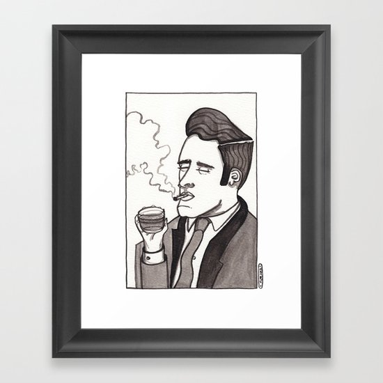Ring-a-Ding-Ding! Framed Art Print