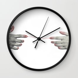 Hands love Wall Clock