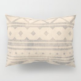Ethnic geometric pattern with triangles circles shapes and lines Pillow Sham