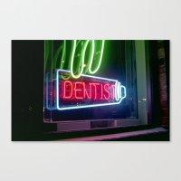dentist Canvas Prints featuring Dentist by Adriane Dizon