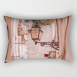 Narrow Street in Lisbon Rectangular Pillow