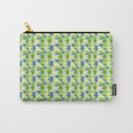 Sim City Inspired Pattern Carry-All Pouch