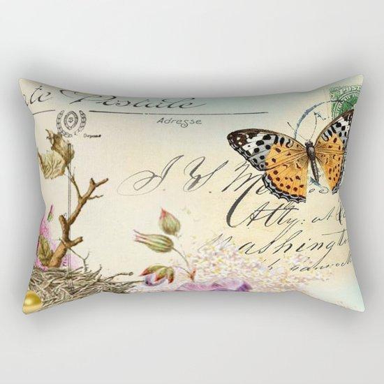 Sweet animal #4 Rectangular Pillow