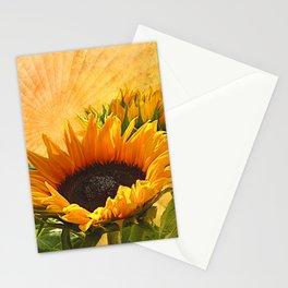 Good Morning Sunflower Stationery Cards