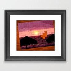 puzzle Framed Art Print