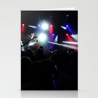 concert Stationery Cards featuring CONCERT by Eclectic House Of Art