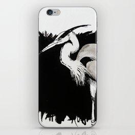 Inksplash Heron iPhone Skin