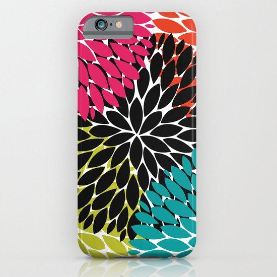 Big Tropical Flowers iPhone & iPod Case