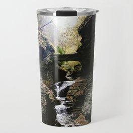 Watkins Glen Waterfall Travel Mug