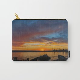 Sunset Rocks at Pirate's Cove Carry-All Pouch