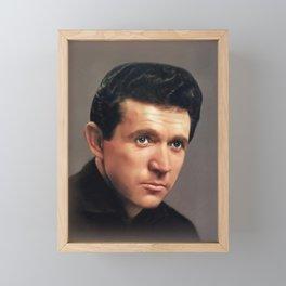 Sonny James, Music Legend Framed Mini Art Print