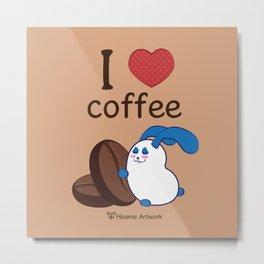 Ernest | Love coffe Metal Print