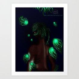 Lights of the Deep Art Print