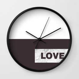 Love live laught Wall Clock