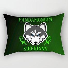 Pandamonium Siberians  Rectangular Pillow