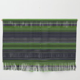 Apple Grape Rag Weave II by Chris Sparks Wall Hanging