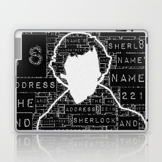 Sherlock BBC: Type Laptop & iPad Skin