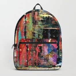 Colorful Bohemian Abstract 2 Backpack