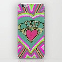 Claddagh Heart. iPhone Skin