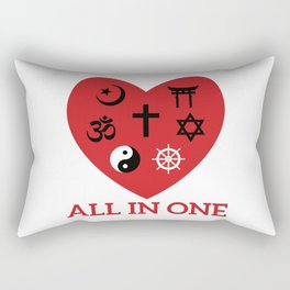 All in one Rectangular Pillow