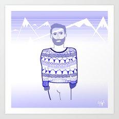 Get cold Art Print