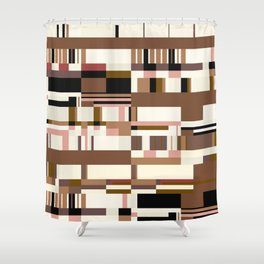Debussy Little Shepherd (Coffee Colours) Shower Curtain