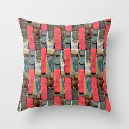 pink dots no1 Throw Pillow
