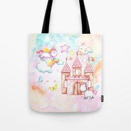 Unicorn Avalon Island Tote Bag