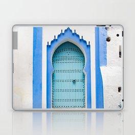 Doors - Chefchaouen, Morocco Laptop & iPad Skin