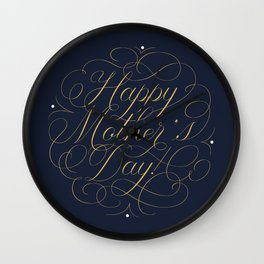 Happy Mother's Day! Wall Clock