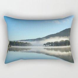 Mirror in the Mist Sunrise Rectangular Pillow