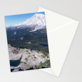 Clear Blue Skies and a Mountain View Stationery Cards