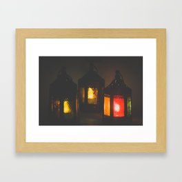 Magic Lanterns Framed Art Print
