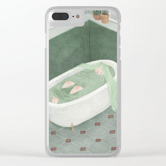 Bathtime Clear iPhone Case