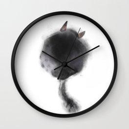 Chinchilla pattern Wall Clock