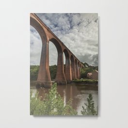 Whitby Viaduct Metal Print