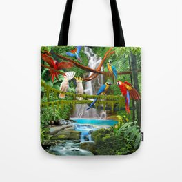 Enchanted Jungle Tote Bag