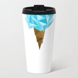 Ice Cream/Blue Metal Travel Mug