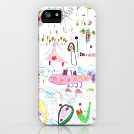 planeta jana iPhone Case